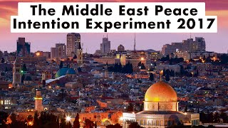 Highlights of The Middle East Peace Intention Experiment 2017