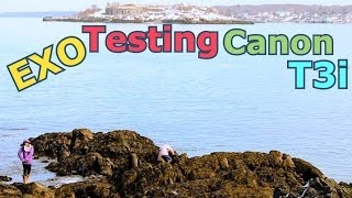 The Wintery Coast of Maine | EXO's Canon T3i Test Footage @ 60FPS Dropped to 30FPS