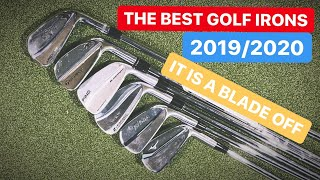 THE BEST GOLF IRONS ITS A BLADE OFF