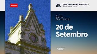 Momentos com Deus - Culto de Domingo (20/09/2020)