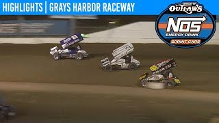 World of Outlaws NOS Energy Drink Sprint Car Series @ Grays Harbor Raceway 9/2/19