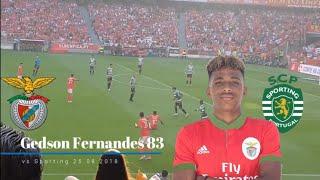 Gedson Fernandes vs Sporting