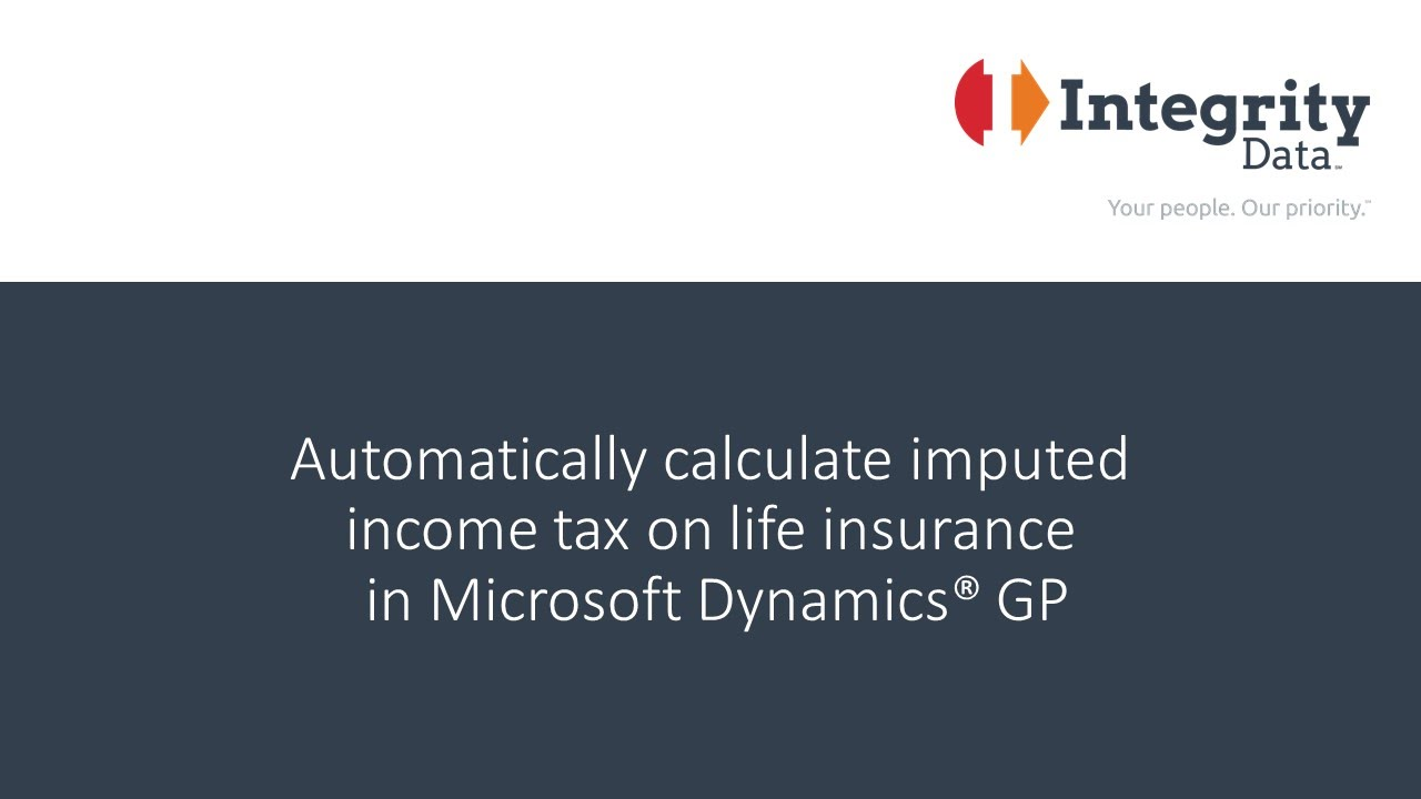 What is imputed income