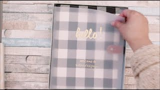 Blitsy Haul Unboxing Holiday Special Websters Pages A5 Composition Planner