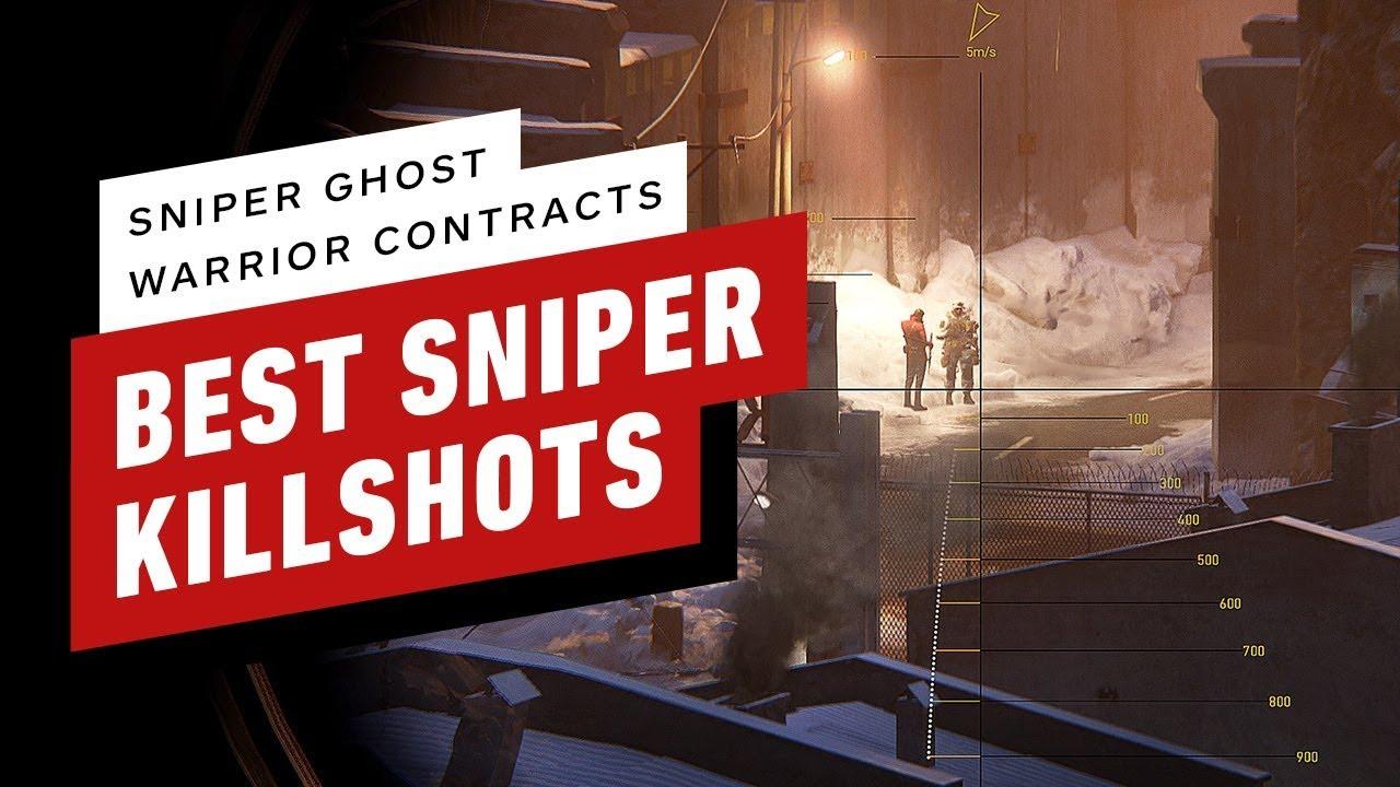 Contratos de guerreiros fantasmas de atiradores furtivos: nossos melhores tiros de atirador furtivo + vídeo