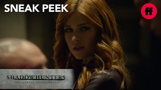 Shadowhunters | Season 2, Episode 11 Sneak Peek: Clary Finds Out She's Not Jace's Sister | Freeform