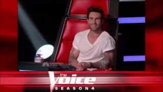 """Michelle Chamuel: """"I Kissed a Girl"""" - The Voice S04 Blind Audition"""