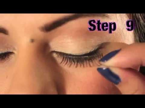 vid o comment se faire un maquillage naturel avec les faux cils ardell 116 youtube. Black Bedroom Furniture Sets. Home Design Ideas