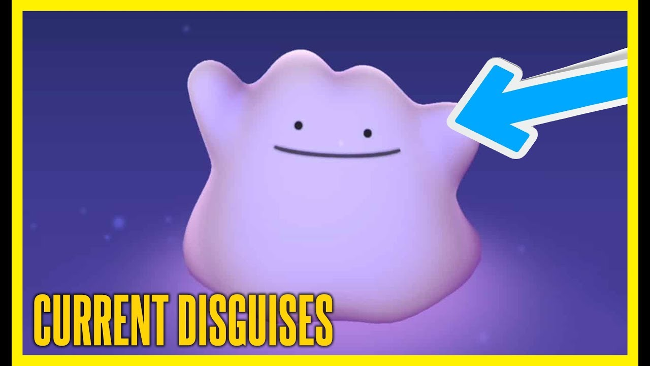 LATEST DITTO DISGUISES IN POKEMON GO | August 2019 | Brawl