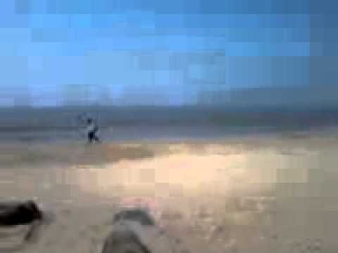 Arabian Sea waves recorded by me in Juhu Beach, Mumbai