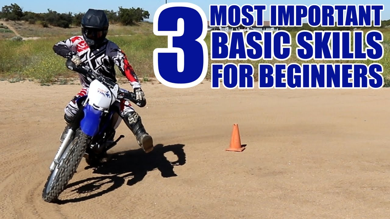 How To Ride A Dirt Bike For Beginners Easy Steps Youtube