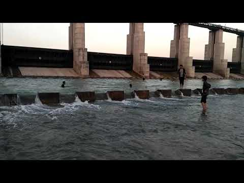 Sant sarovar dam 2 gandhinagar gujarat free water ride