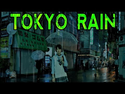 🎧 EPIC Tokyo City Rain Sounds  | Ambient Noise for Studying and Sleeping, @Ultizzz day#19