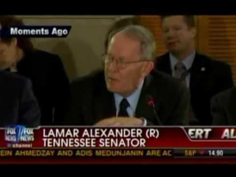Lamar Alexander to President Obama: Premiums Will Rise Under Democratic Health Bill