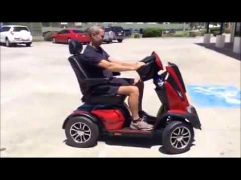Scooter eléctrico de movilidad Drive Medical King Cobra