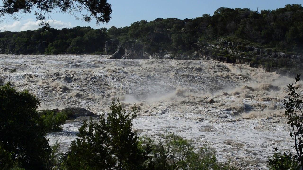 Pedernales Falls State Park Flood 5/8/19 - YouTube