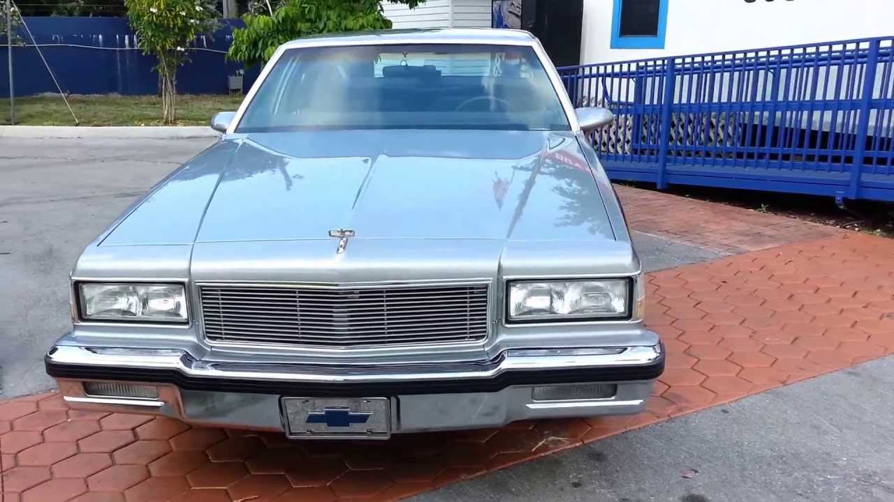 All Chevy 1989 chevy : 1989 Chevrolet Caprice LS For Sale @ Karconnectioninc.com Miami ...