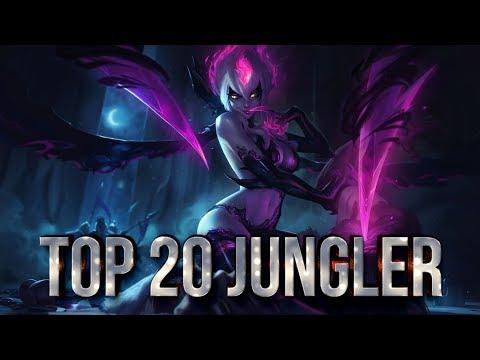 Top 20 JUNGLER Plays #05   League of Legends