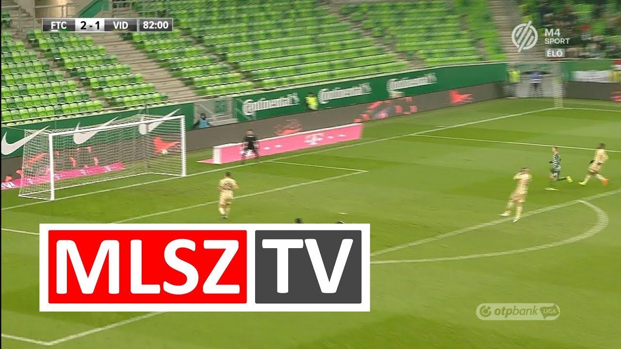Moutari Tidjani Amadou gólja a Ferencvárosi TC - Videoton FC mérkőzésen
