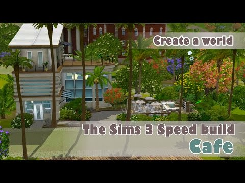 The Sims 3 - Speed Build - Cafe | World Creations