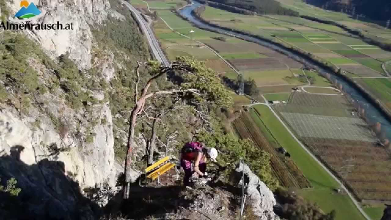 Klettersteig Geierwand : Geierwand klettersteig haming youtube