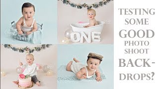 Did I find the best photoshoot backgrounds? Testing studio backdrops from a different supplier