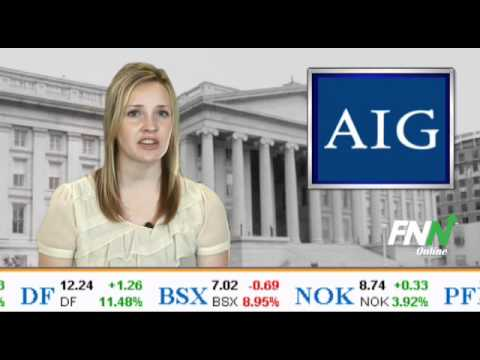 AIG, Treasury Commence Offering 300 Million Shares of AIG Stock