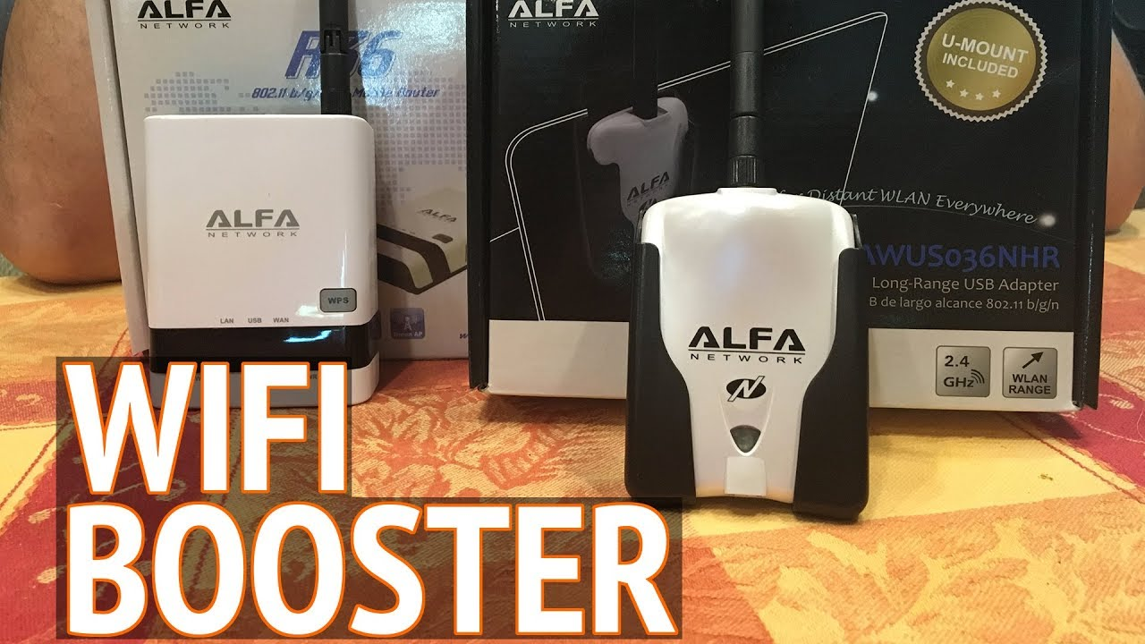 Alfa Wifi Booster + Wifi Repeater Review Mac Compatible