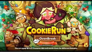 Playing Cookie Run: Ovenbreak! For the First Time! (CROB Gameplay) (New Trailer)