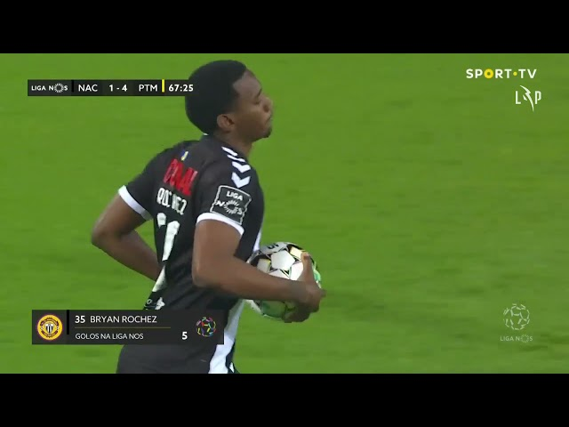 Goal | Golo Rochez: CD Nacional (1)-4 Portimonense (Liga 20/21 #25)