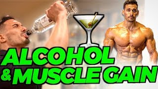 ALCOHOL, FAT LOSS, & MUSCLE GAIN: WHAT HAPPENS (Full Breakdown)
