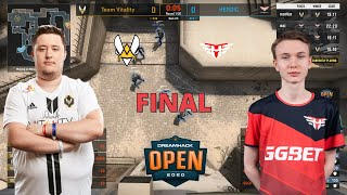 Vitality vs Heroic - MIRAGE map 5 - GRAND FINAL - DreamHack Open Fall 2020