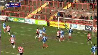 2013/14 Highlights: Exeter 1-1 Pompey