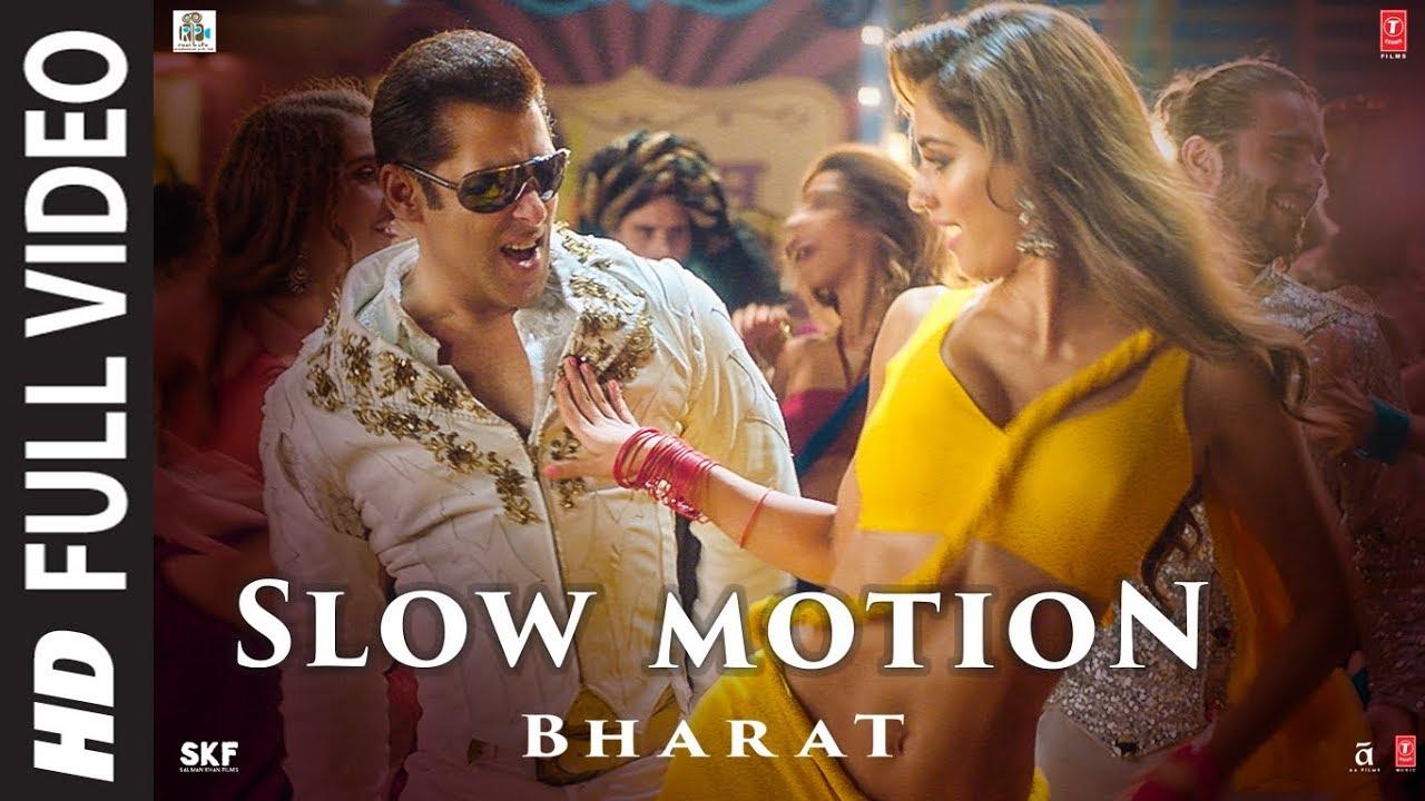 Full Video: Slow Motion  Bharat Salman Khan,disha Patani Vishal &shekhar,shreya G