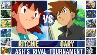 Gary vs. Ritchie (Pokémon Sun/Moon) - Ash's Rival Tournament/Quarterfinal