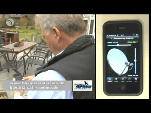 Satellitenfinder Fur S Iphone Dr Dish Tv Bericht Youtube