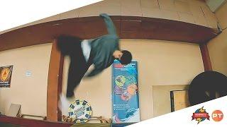 Обучение: арабское сальто (Parkour Tricks)