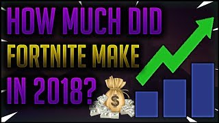 Combien d'argent Fortnite a-t-il fait en 2018? - Fortnite Battle royal commentaire