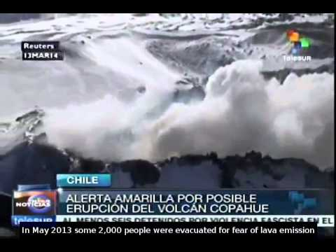 Chile on alert over Copahue volcano eruption