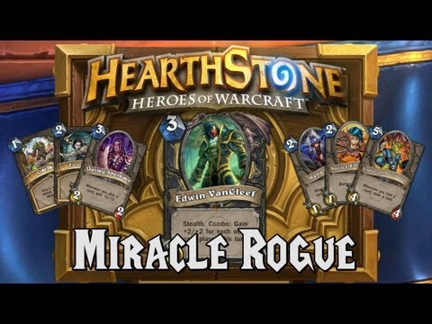 Hearthstone Deck Spotlight: Miracle Rogue (Rogue)