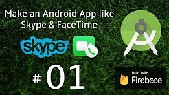 Android Video Chat App - Firebase Video Call Android - Calling App Android Studio - Live Streaming App - Video Call App Android Studio Tutorial 2020