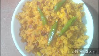 Recipe of Poha with Chinese Flavour