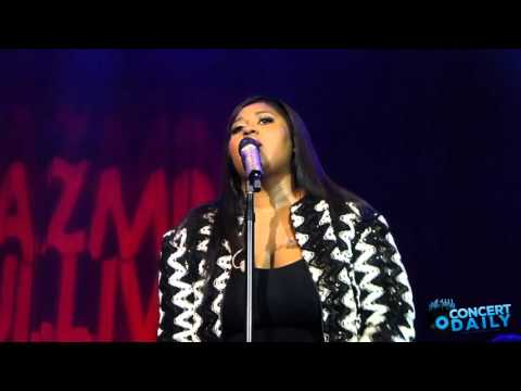 """Jazmine Sullivan performs """"In Love With Another Man"""" live at the Fillmore Silver Spring"""
