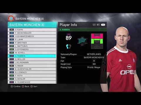 Classic Bayern Munich - PES 2018 (Ps4)
