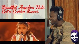Angelica Hale: 9-Year-Old Earns Golden Buzzer - America's Got Talent 2017 | Reaction