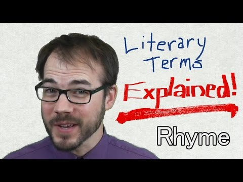Rhyme: Literary Terms Explained!