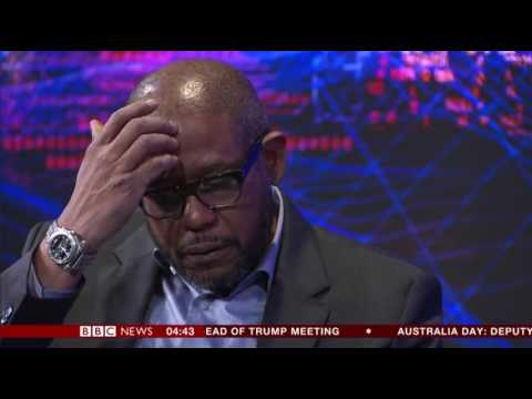 BBC Hardtalk with Forest Whitaker at Davos