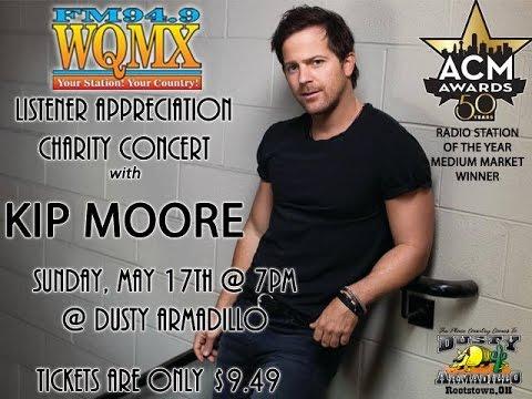 WQMX Charity Listener Appreciation Concert: Kip Moore