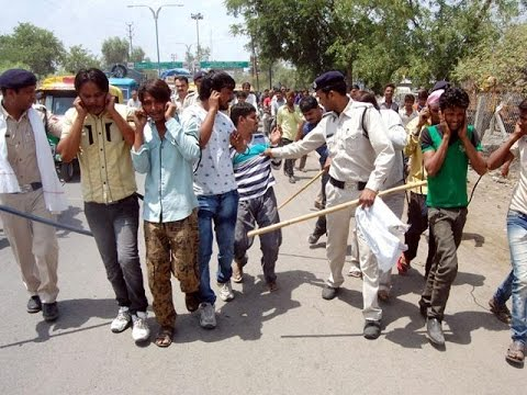 Indore Police Chasing Gunda And Mafia -Salute to Them