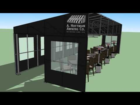 Restaurant awnings increase your seating capacity! | A. Hoffman Awning Co.